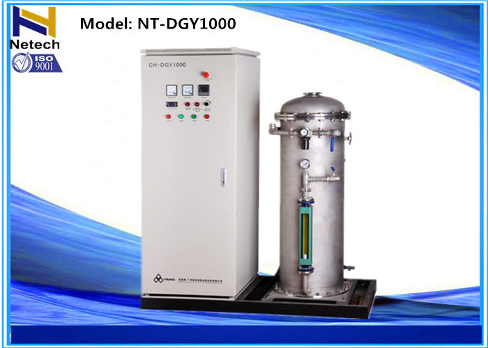 1000g Industrial Ozonizer For Decolorizing Paper Wastewater , Water Ozonator