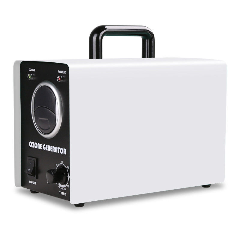 clean Air Ozone Generator Corona Discharge Ozone Machine For Odor Removal white